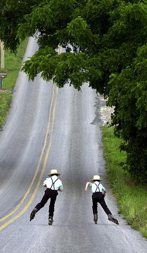 Amishboys skating