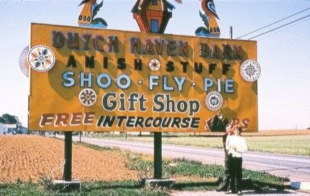 Amish, shoofly pie, Intercourse..oh my!