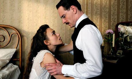 """A Dangerous Method """"Sometimes you have to do something unforgiveable...just to be able to go on living"""""""