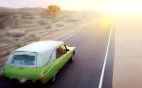Six Feet Under. hearse